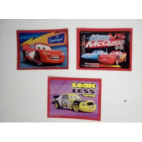 Lote 3 Figurinhas Do Carros Supercharged