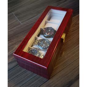 Relojera Estuche Reloj Fossil Victorinox Tag Naviforce Curre