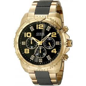 Reloj Guess Hombre Dorado - Relojes Masculinos Guess en Mercado ... 16e670a6641e