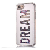 Case Dream Espejo Plata Glitter iPhone 6 7 8 Y Plus +