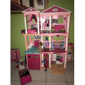 Casa Barbie Con Todos Sus Accesorios Incluyendo La Barbie