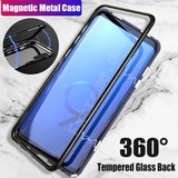 Case Capa Magnetica Samsung Galaxy S8 S9 Plus Note 8 9