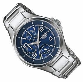 59a54503511 Relógio Casio Edifice Wr100m Masculino - Relógios De Pulso no ...