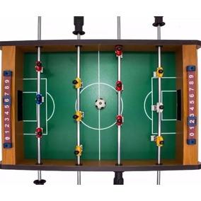 8ae210cf53 Toto Pebolim Mini Mesa Futebol Madeira 12 Jogadores + Bola