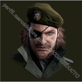 Playera Metal Gear Snake Peace Walker Snake Guevara Boina 80cb41ef2bc