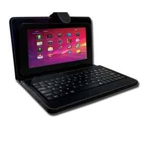Tablet Função Celular 3g Dual Chip Android + Capa Teclado
