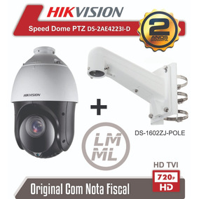 Speed Dome Hikvision Ptz Ds-2ae4123ti-d 23x Ir 100 Mts 720p