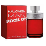 Perfume Importado Hombre Halloween Man Rock On 125 Ml