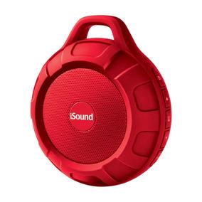 Caixa De Som Isound Duratunes Bluetooth - Vermelho