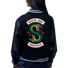 Moletom College Série Riverdale Southside Serpents + Brinde