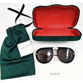 1c300d540c847 Óculos De Sol Gucci Com Proteção Uv - Óculos no Mercado Livre Brasil