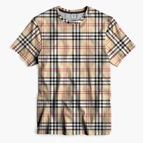 Camiseta Burberry Griffe Xadrez Supreme Bape Hype Outfit