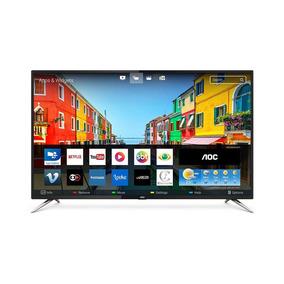 Smart Tv Led 50 Polegadas Aoc Hd 4k Wi-fi 4 Hdmi Usb
