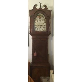 Reloj Grand Father Caoba Inglés Mod. Halifax, Estilo Georgia