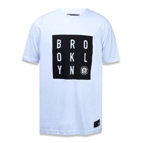 c3635918c5 Camiseta New Era Brooklyn Branca Original - Pronta Entrega