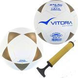 2 Bolas Futsal Vitoria Brx 450 Sub 15 Juvenil + Bomba Ar 14bdb6f7a2a2f