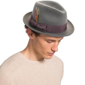 Sombrero De Fieltro De Lana Fedora De Janetshats Sombrero 052f0d2a773