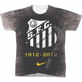 4e105244de Camiseta Camisa Manga Curta Santos Futebol Club Time 07