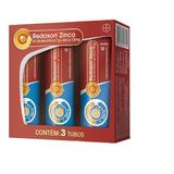 Kit Redoxon Zinco 1g + 10mg- 90 Comprimidos Efervescentes