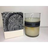 Vela Aromatique 500 G Vanilla Vaso Cristal Oferta D4