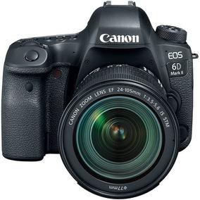 Câmera Canon Eos 6d Mark Il C/ 24-105mm F / 3.5-5.6 Stm