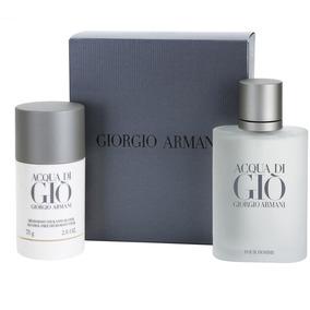 Set Acqua Di Gio By Giorgio Armani -- Sellado Fabrica -- 2pc