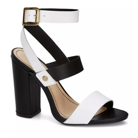 Sandalia De Tacon Con Correa Delgada Andrea - Zapatos en Mercado ... eddaa830f130