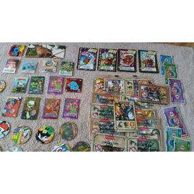 Lote 6177 - Tazo, Figurinhas E Cartões Diversos Déc.80 E 90