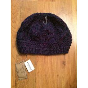 Hermoso Sombrero Gorrito Aeropostale Hand Knitt Fino!!!