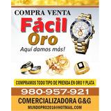 Compramos Oro Relojes Plateria Joyas Por Gramo En Lima Peru