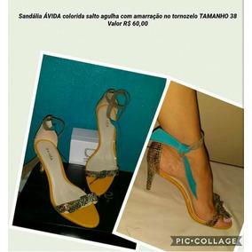 Sandália Ávida
