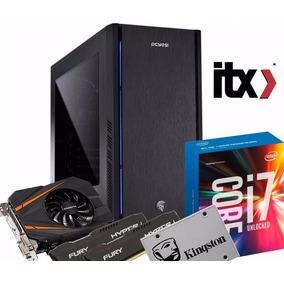 Pc Gamer Intel I7-7700 Gtx 1070 8gb 16gb 1tb 700w Ssd 240gb