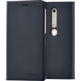 Nokia 6.1 Flip Cover Black