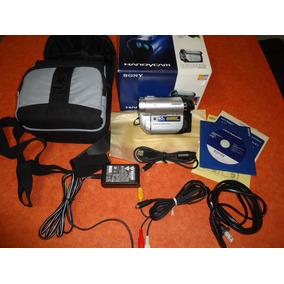 Video Camara Sony Dcr-dvd610 Con Todos Los Accesorios
