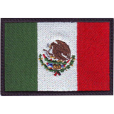 Mexico Bandera Bordada Parche Bordado Militar Gotcha Táctico