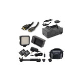 El Kit De Accesorios De La Videocámara Jvc Gz-ex310 Incluye: