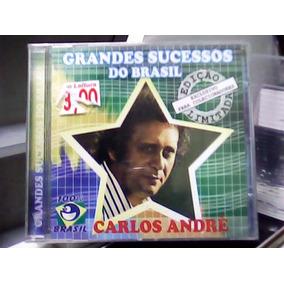Cd Grandes Sucessos Do Brasil - Carlos Andre - Nov