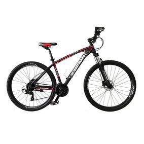 Bicicleta Scarafaggio Rin 29 Hidráulica 2019 Negro Rojo