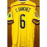 Camisa Da Colombia Copa Do Mundo 2014 Autografada Elenco 92dcfec54b88b