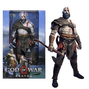 Action Figure Boneco God Of War Kratos 18 Cm Original Neca