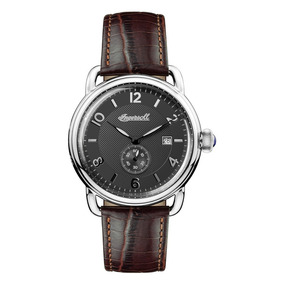 ¡¡ Reloj Ingersoll 1892 The New England Acero Cafe 100801 !!