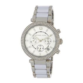 Reloj Michael Kors Mk6354 Parker Silver Whie Watch