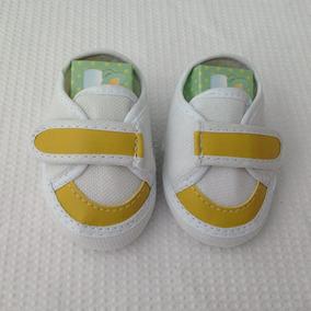 a35d4c6209f Sapato Tênis Bebê Menino Recém Nasc Brco C Verm amar marron
