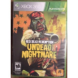 Juego Para Xbox 360 Read Dead Redemtion Undead Nightware