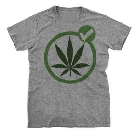adc00eebd Camiseta Camisa Hemp Folha Maconha Legalize Erva Planta Good
