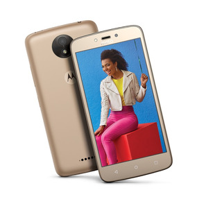Celular Motorola Moto C+ Libre 8mpx Dorado 2509