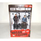 Negan Glenn The Walking Dead Mcfarlane Toys Set Deluxe
