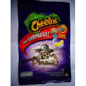 Elma Chips Embalagem Da Coleção Tazos Piratas
