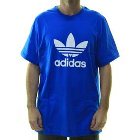 7b148f18c71 Camiseta Trefoil Adidas - Camisetas e Blusas no Mercado Livre Brasil
