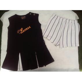 Vestido Leones Del Caracas Niña 12 Meses